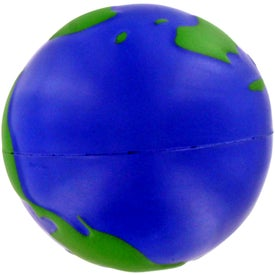 Advertising Earthball Stress Ball