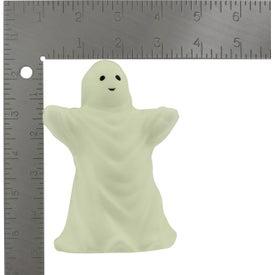 Glow In Dark Ghost Stress Toy for Customization