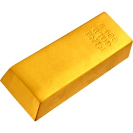 Company Gold Bar Stress Reliever