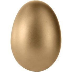 Promotional Golden Egg Stress Ball