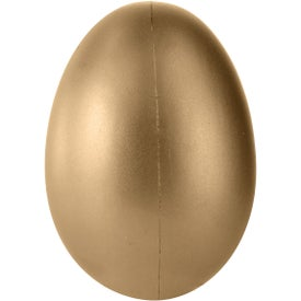Personalized Golden Egg Stress Ball