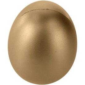Custom Golden Egg Stress Ball