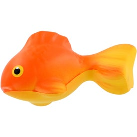 Goldfish Stress Ball with Your Slogan