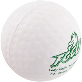 Advertising Golf Ball Stress Toy