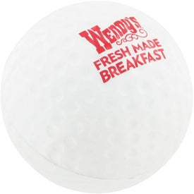 Monogrammed Golf Ball Stress Ball