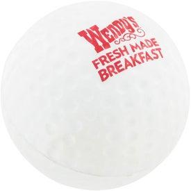 Monogrammed Golf Ball Stress Ball