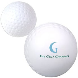 Golf Ball Stress Ball (White)