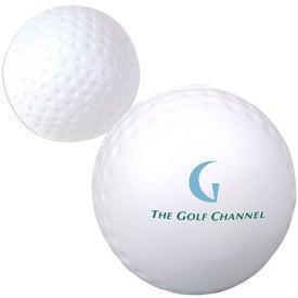 Golf Ball Stress Ball (Economy)