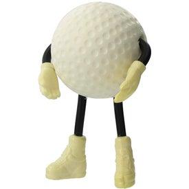 Golf Figure Stress Ball