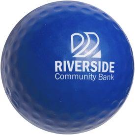 Advertising Golf Ball Stress Ball