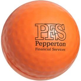 Customized Golf Ball Stress Ball
