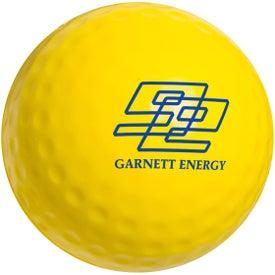 Custom Golf Ball Stress Ball