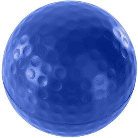 Imprinted Golf Ball Stress Ball