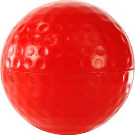 Promotional Golf Ball Stress Ball