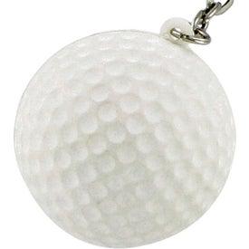 Golf Ball Keychain Stress Toy for Customization