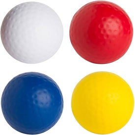Golf Ball Stress Reliever Branded with Your Logo
