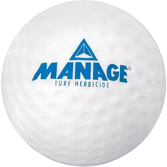White Golf Ball Squeeze Toy
