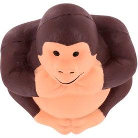 Promotional Gorilla Stress Reliever