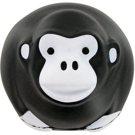 Branded Gorilla Ball Stress Toy