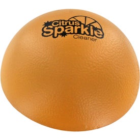 Customized Grapefruit Half Stress Ball
