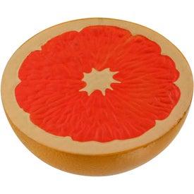Grapefruit Half Stress Ball for Customization