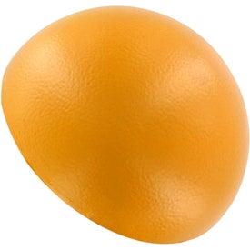 Personalized Grapefruit Half Stress Ball
