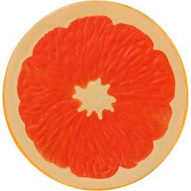 Grapefruit Half Stress Ball