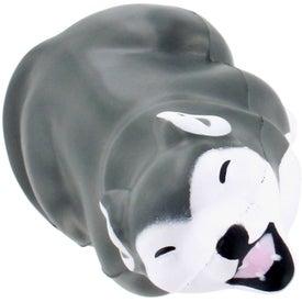 Gray Wolf Stress Ball