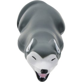 Gray Wolf Stress Ball Branded with Your Logo