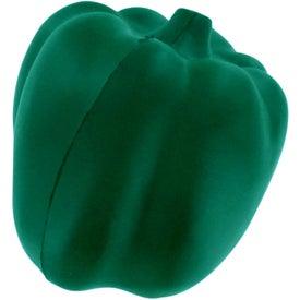 Logo Green Bell Pepper Stress Reliever