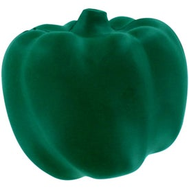 Promotional Green Bell Pepper Stress Reliever