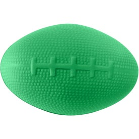 Imprinted Mood Football Stress Reliever