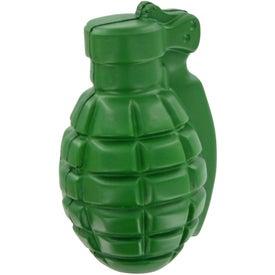 Logo Grenade Stress Toy