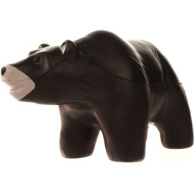 Grizzly Bear Stress Ball with Your Slogan