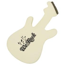 Monogrammed Electric Guitar Stress Ball