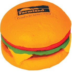 Printed Hamburger Stress Reliever
