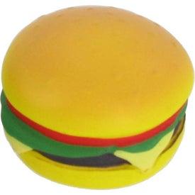 Personalized Hamburger Stress Ball