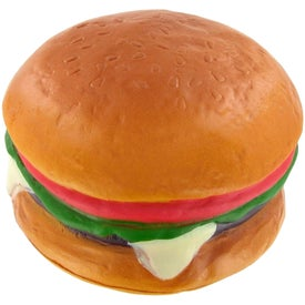 "Hamburger Stress Ball (1.75"" x 2.5"" Dia.)"