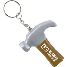 Hammer Key Chain Stress Ball