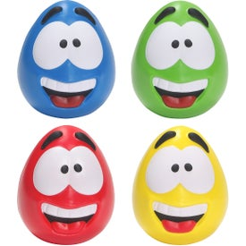 Happy Face Slo-Release Serenity Stress Balls