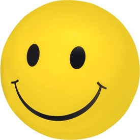 Happy Face Stress Ball for Advertising