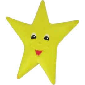 Monogrammed Happy Star Stress Reliever