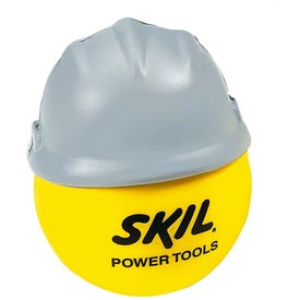 Customized Happy Face with Hard Hat Stress Ball
