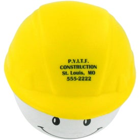 Hard Hat Mad Cap Stress Ball for your School