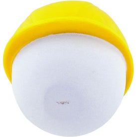 Hard Hat Mad Cap Stress Ball for Customization