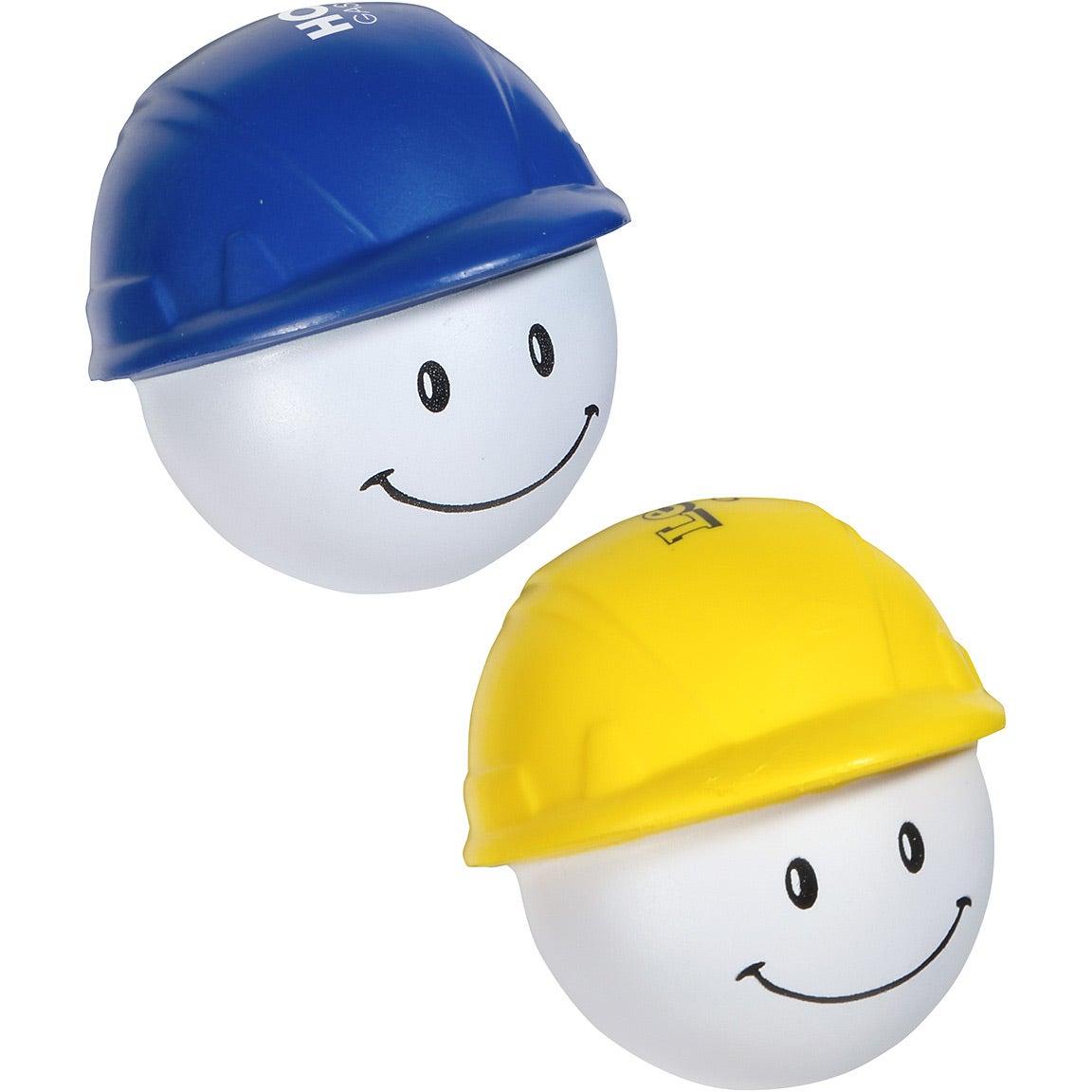 Promotional Hard Hat Mad Cap Stress Balls with Custom Logo ...