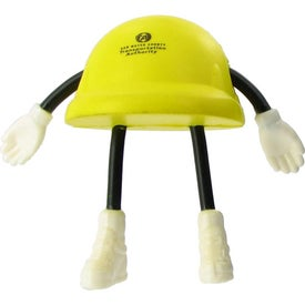 Hard Hat Figure Stress Ball