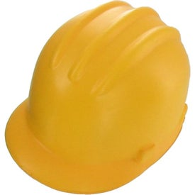 Logo Hard Hat Stress Reliever