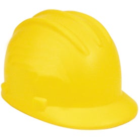 Hard Hat Stress Reliever Branded with Your Logo