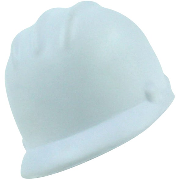White Hard Hat Stress Ball